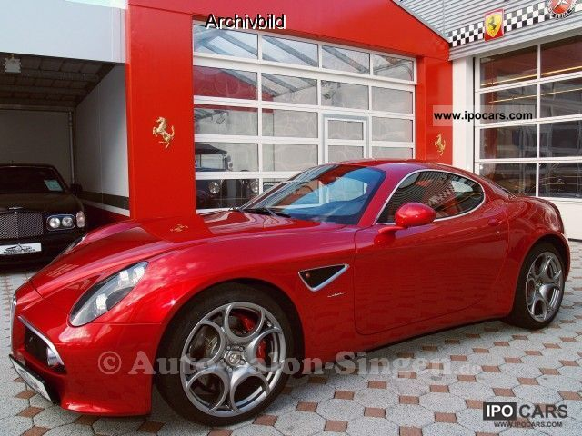 2010 Alfa Romeo  8C Competizione Sports car/Coupe Used vehicle photo