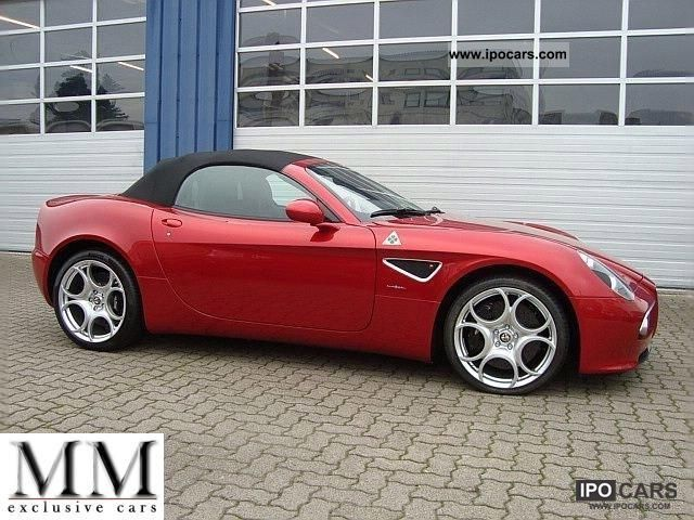 2012 Alfa Romeo  8C Spider Cabrio / roadster Used vehicle photo