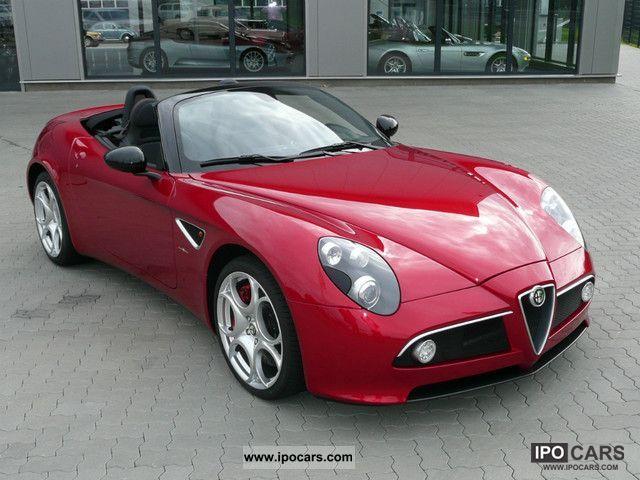 2011 Alfa Romeo  8C Spider Cabrio / roadster New vehicle photo