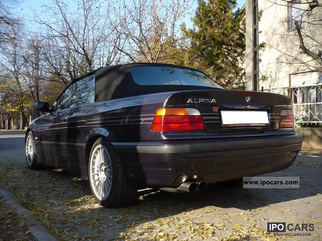 1996 alpina b3 3 2 switch tronic convertible for Mercedes benz service b3