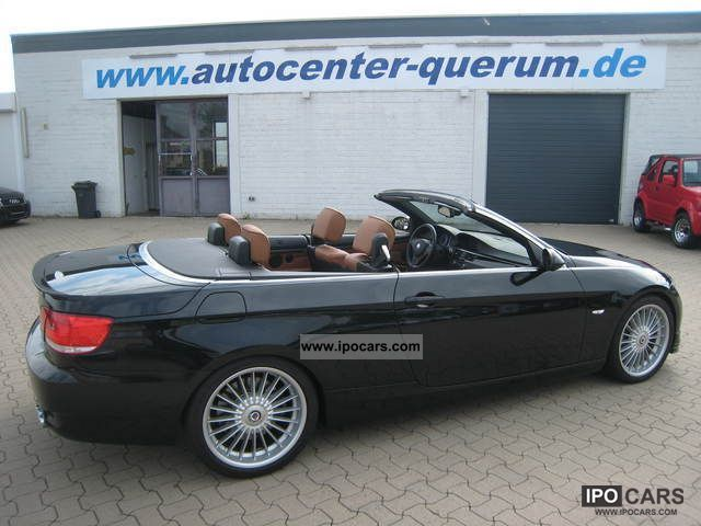 2008 alpina b3 biturbo cabriolet 1 hand car photo and specs for Mercedes benz service b3