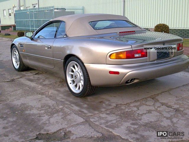 1998 aston martin db7 car photo and specs. Black Bedroom Furniture Sets. Home Design Ideas