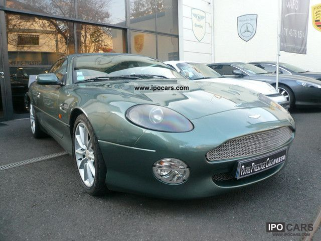 2000 Aston Martin  DB7 Coupe V12 2 +2 BV6 Sports car/Coupe Used vehicle photo