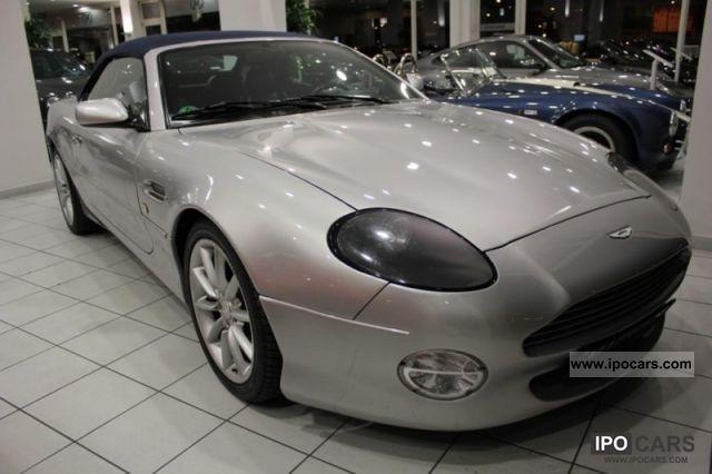 2002 Aston Martin DB7 Vantage Volante Automatic Cabrio / roadster Used ...