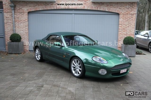 1999 Aston Martin Db7 Vantage Volante Full History Car Photo And
