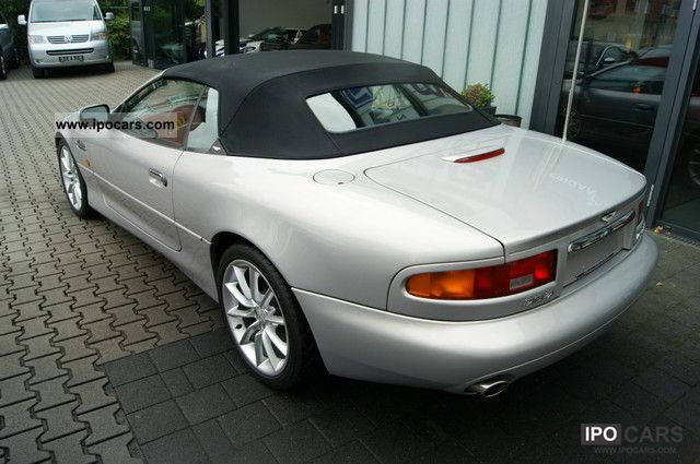 2001 aston martin db7 vantage volante car photo and specs. Black Bedroom Furniture Sets. Home Design Ideas