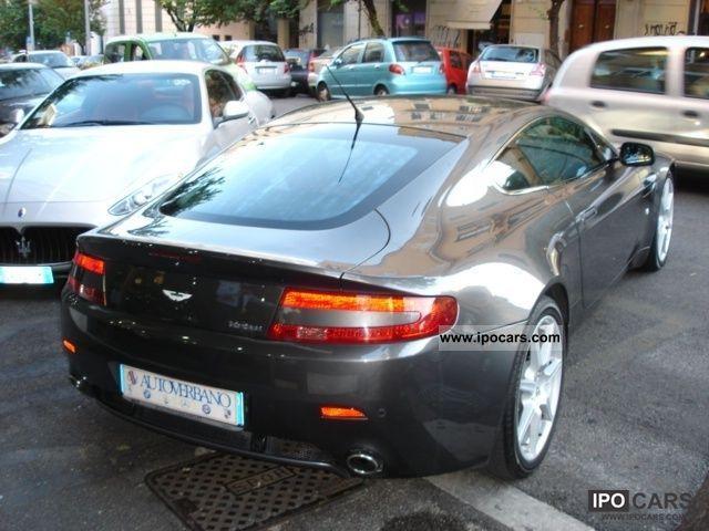2007 Aston Martin Vantage Vantage V8 Coupé Car Photo And Specs
