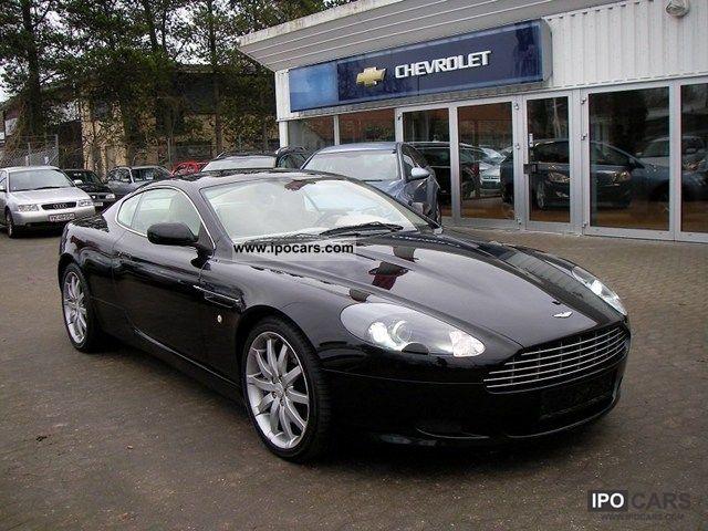 Aston Martin DB Vantage Coupe Aut Car Photo And Specs - 2004 aston martin