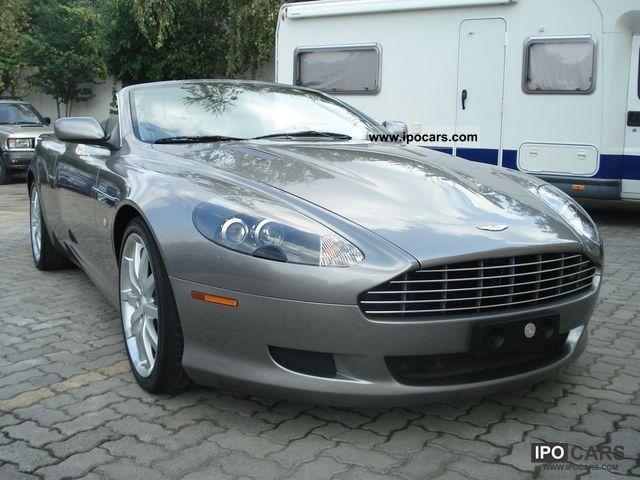 2006 Aston Martin Db9 Volante Touchtronic Car Photo And Specs