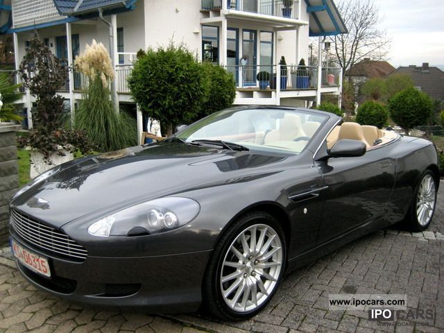 Aston Martin DB VOLANTE TOUCH TRONIC MSRP - 2006 aston martin db9 volante