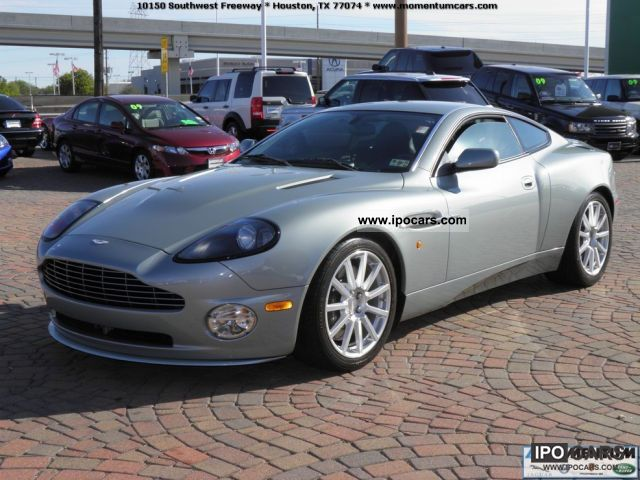 2005 aston martin vanquish s u s price car photo and specs. Black Bedroom Furniture Sets. Home Design Ideas
