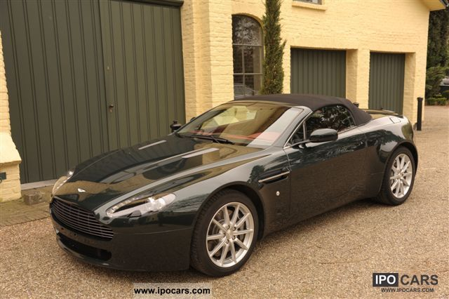 2007 aston martin 3 4 v8 roadster car photo and specs. Black Bedroom Furniture Sets. Home Design Ideas