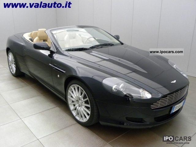 2007 Aston Martin Db9 Volante Cv457 Interni Pelleted In Beige Car Photo And Specs