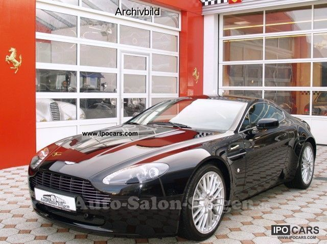 Aston Martin  V8 Vantage Coupe G2 MY 2012 1955 Vintage, Classic and Old Cars photo