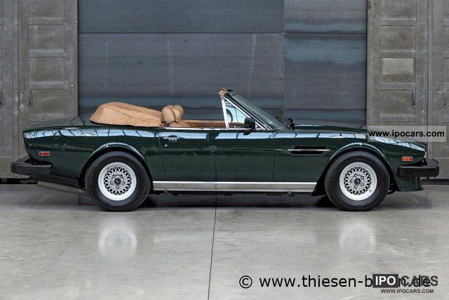 1988 Aston Martin V8 Volante Car Photo And Specs