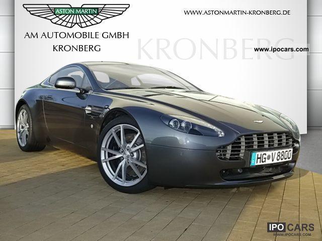 2012 Aston Martin V8 Vantage Sport Shift Car Photo And Specs