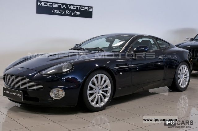 2003 Aston Martin  V12 Vanquish Sports car/Coupe Used vehicle photo