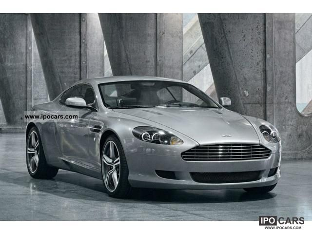 2011 Aston Martin  DB9 Coupe Sports car/Coupe New vehicle photo