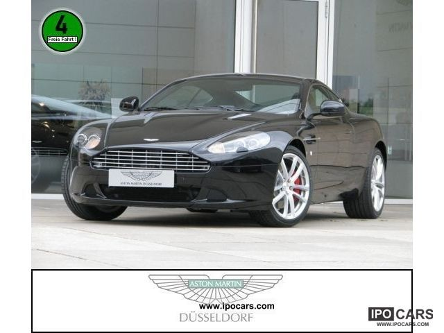 2012 Aston Martin  DB9 leather air xenon Sports car/Coupe Demonstration Vehicle photo