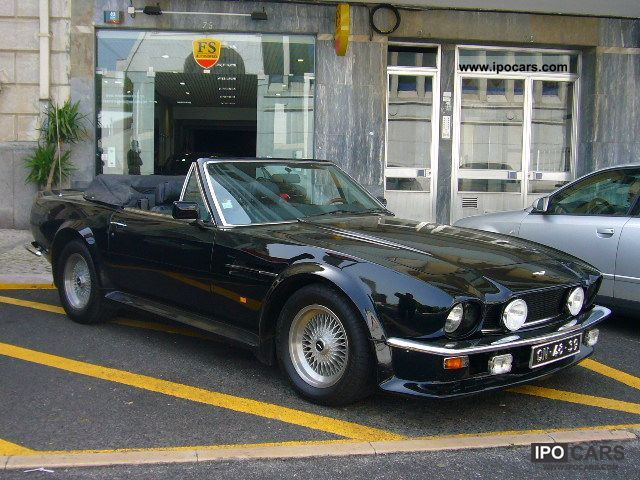 1988 Aston Martin Volante V8 Vantage Volante Car Photo And Specs