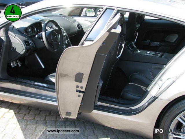 aston martin rapide back seats. 2011 aston martin rapide rear seat entertainment system navigation limousine demonstration vehicle photo back seats f