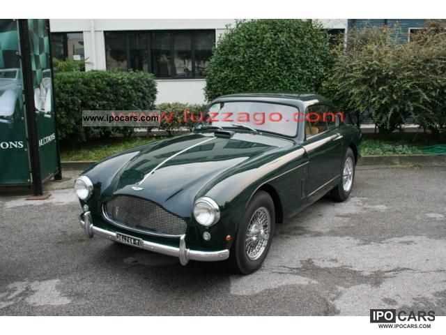 Aston Martin  DB 2/3 3 MARK COUPE LHD 1959 Vintage, Classic and Old Cars photo