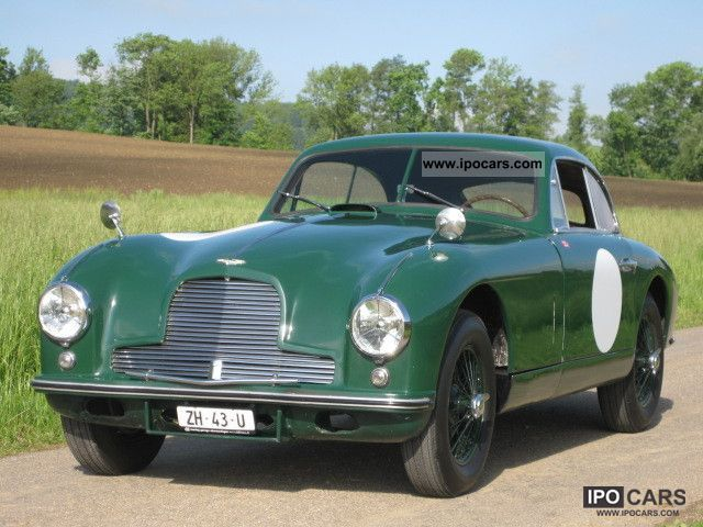 Superior Aston Martin DB2 Original Left Hand Drive 1953 Vintage, Classic And Old Cars  Photo