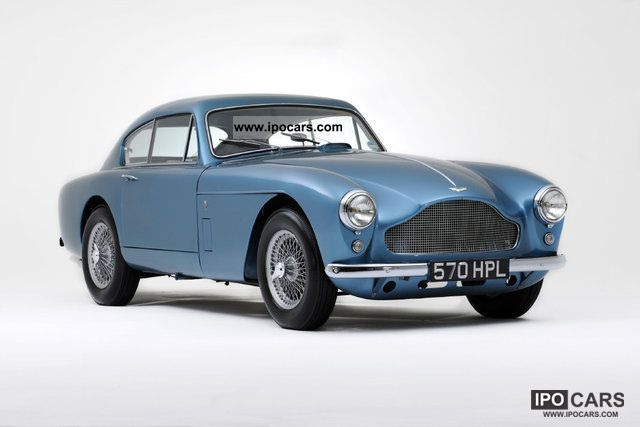 Aston Martin  DB2 DB Mark III 1959 Vintage, Classic and Old Cars photo