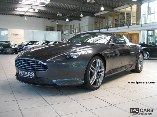 2011 Aston Martin Virage Volante 6 0 V12 Touchtronic Ii Car Photo And Specs