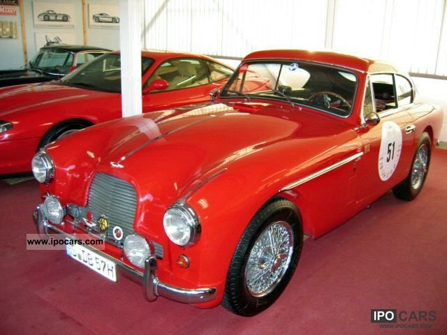 Aston Martin  DB 2 2-4 MK II Coupe Mille Miglia Taugl. 1957 Vintage, Classic and Old Cars photo