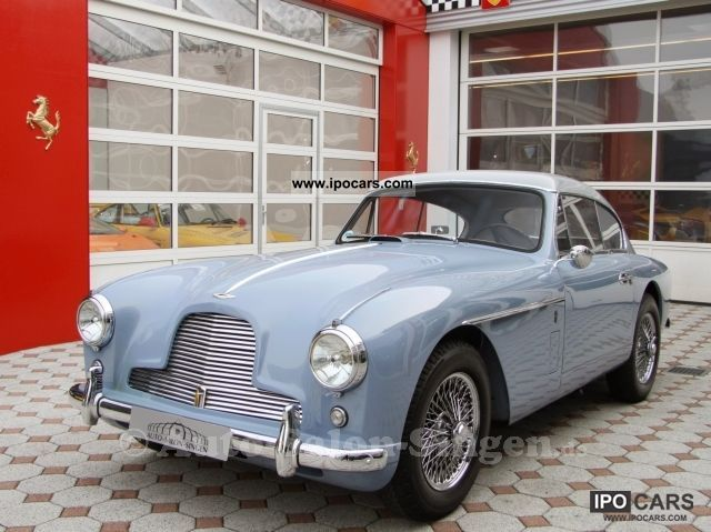 Aston Martin  DB 2/4 Mk II LHD LHD 1957 Vintage, Classic and Old Cars photo