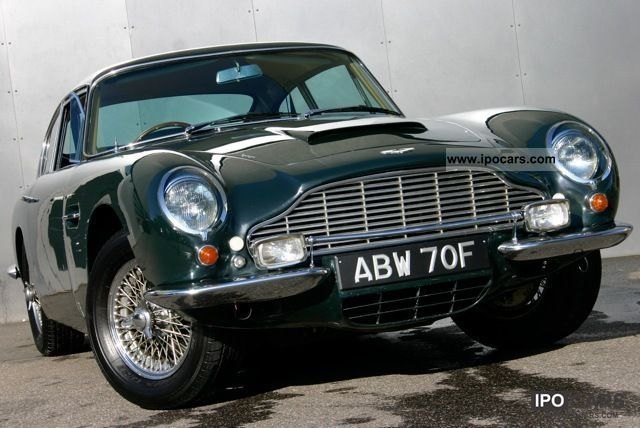 Aston Martin  DB 6 Vantage RHD 1968 Vintage, Classic and Old Cars photo