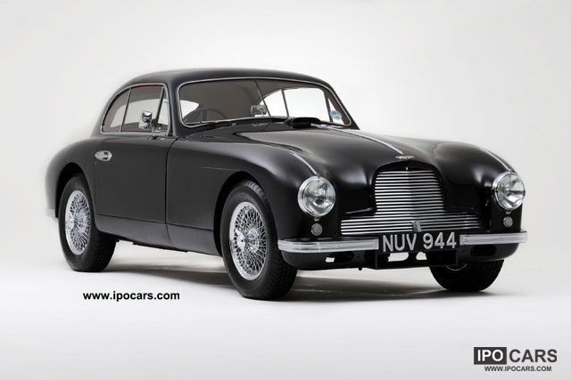Aston Martin  Saloon to Vantage Specification DB2 1953 Vintage, Classic and Old Cars photo