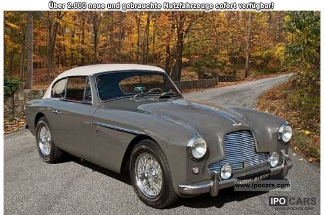 Aston Martin  DB2 / 4 / Mk II Coupe 2 +2 1956 Vintage, Classic and Old Cars photo