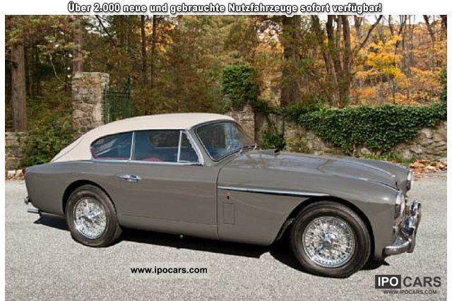 1956 Aston Martin Db2 4 Mk Ii Coupe 2 2 Car Photo