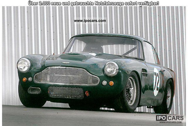 Nice Aston Martin DB 4 / Lightweight Racer 1961 Vintage, Classic And Old Cars  Photo
