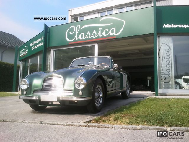 1953 Aston Martin  DB 2 DHC VANTAGE Cabrio / roadster Classic Vehicle photo