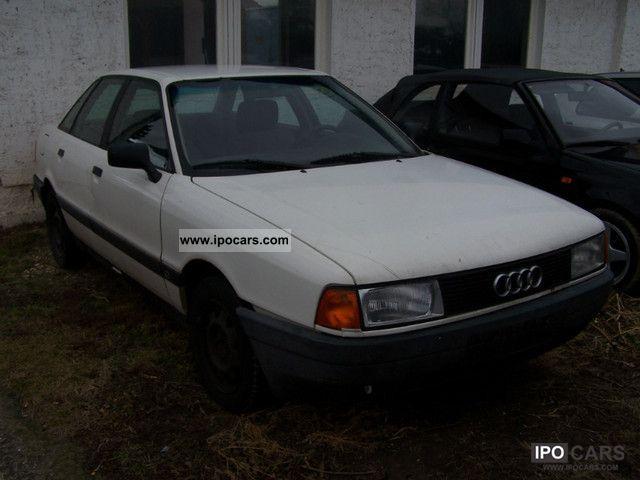 1987 Audi  80 Limousine Used vehicle photo
