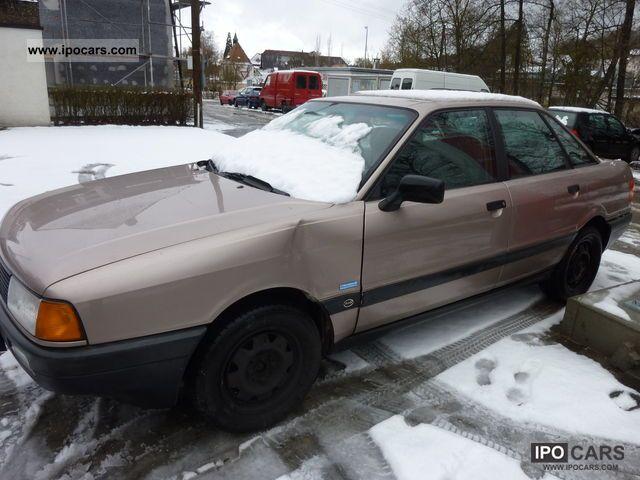 1987 Audi  80 1.8 S Limousine Used vehicle photo
