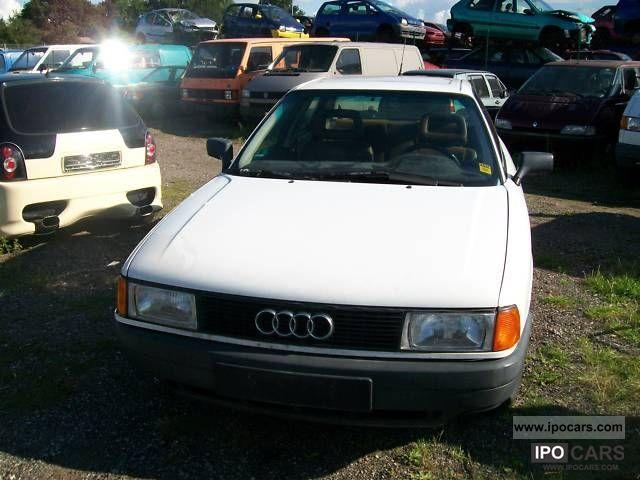 1989 Audi  80 1.8 S Limousine Used vehicle photo