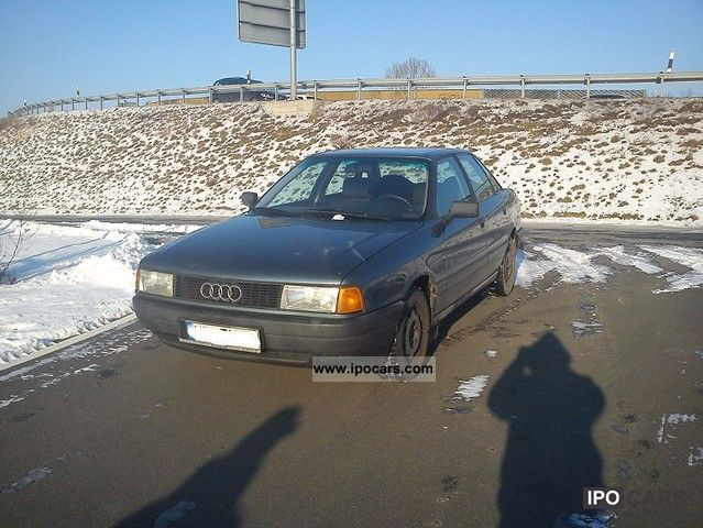1991 Audi  audi 80 b3 b 3 2 012 € 2 green badge tüv Limousine Used vehicle photo