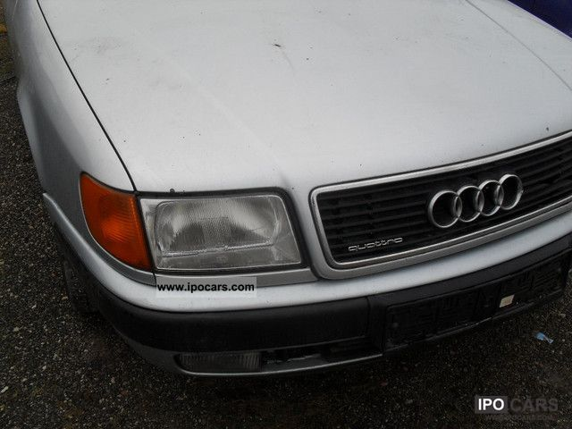 1991 Audi 100 2.8L Quattro WHEEL DRIVE! Limousine Used vehicle photo 2