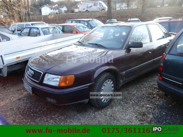 1991 Audi  100 2.3 E AHK Tüv 3/2012 € 2 Limousine Used vehicle photo