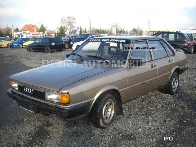 1984 Audi  80 Limousine Used vehicle photo