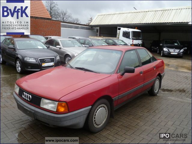 1987 Audi  80 1.8 Limousine Used vehicle (business photo