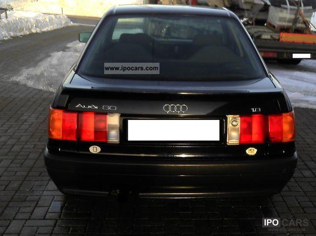 1991 Audi  80 1.8 Limousine Used vehicle photo