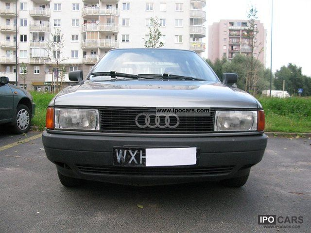 1990 audi 80 b3 car photo and specs. Black Bedroom Furniture Sets. Home Design Ideas