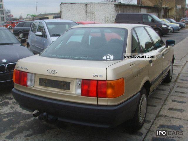 1989 Audi 80 2. Hand scheckheft - Car Photo and Specs
