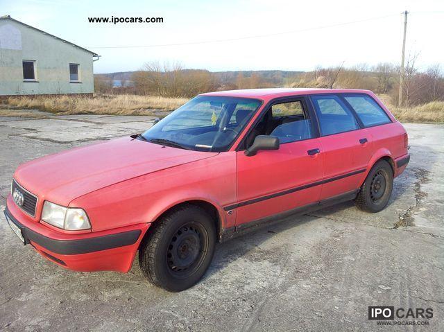 1992 Audi  80 2.3 E Avant Estate 5Zylinder!!! Estate Car Used vehicle photo
