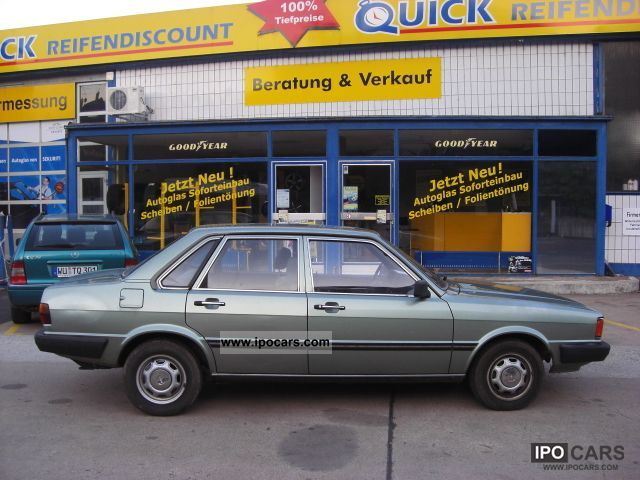 1983 Audi  * 80 * YOUNGTIMER 84868KM! * GOOD CONDITION Limousine Used vehicle photo